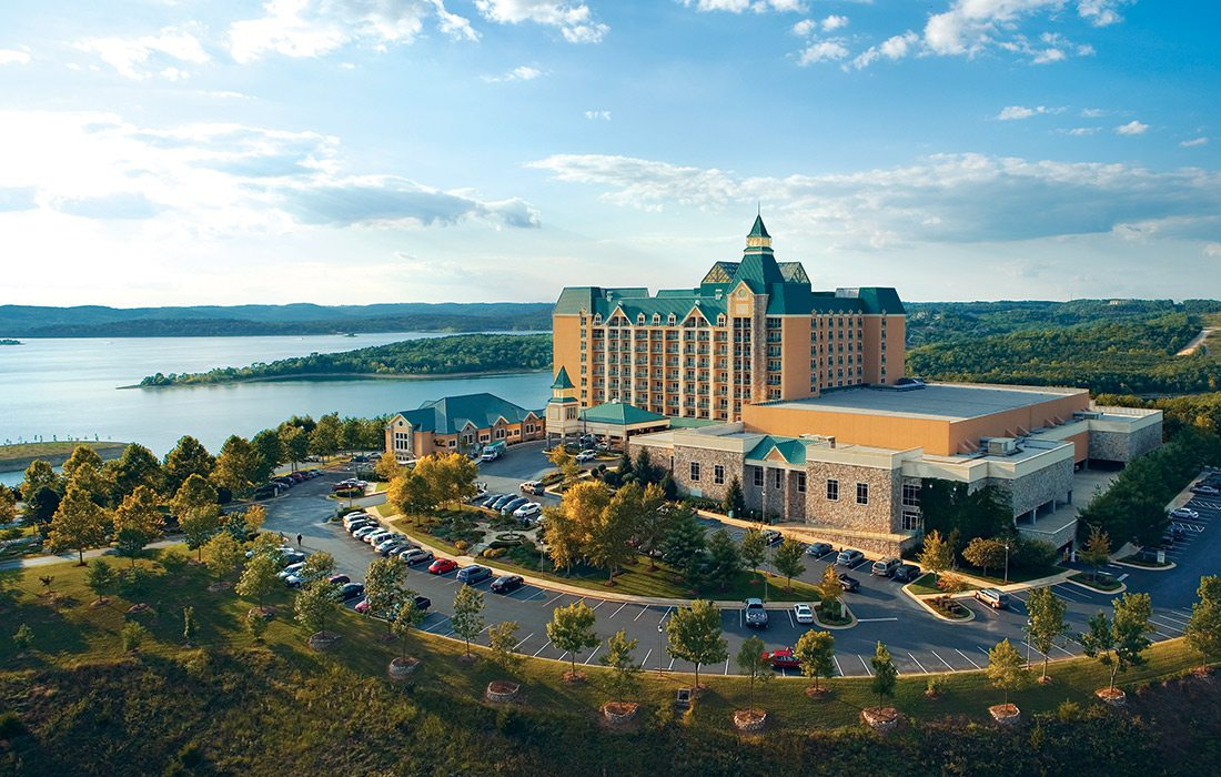 Chateau on the Lake in Branson MO