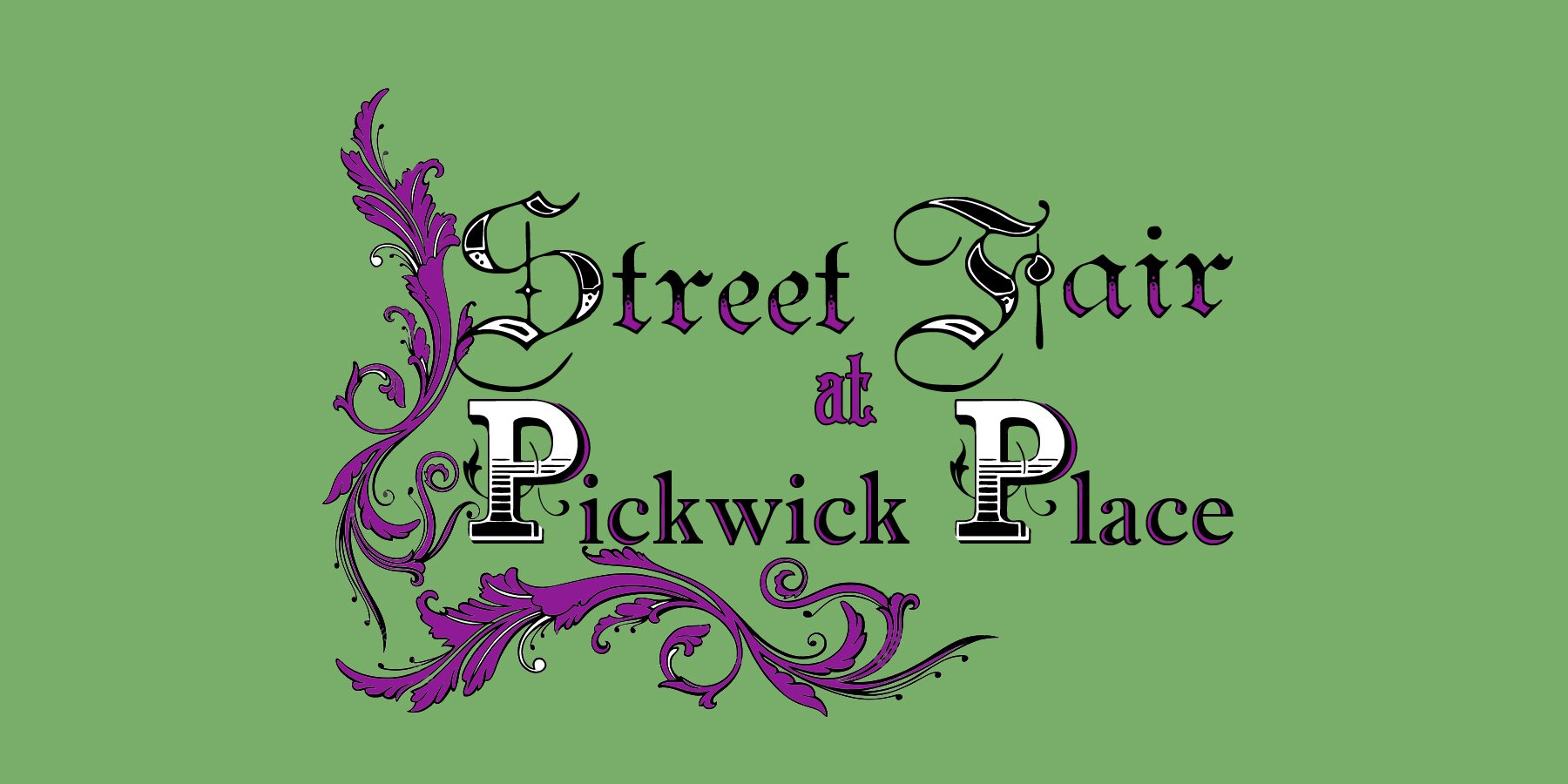 Street Fair at Pickwick Place