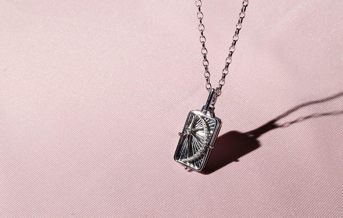 Locket from Maxon's Jewelers