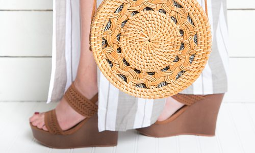 Bag it Up with Summery Straw Purses
