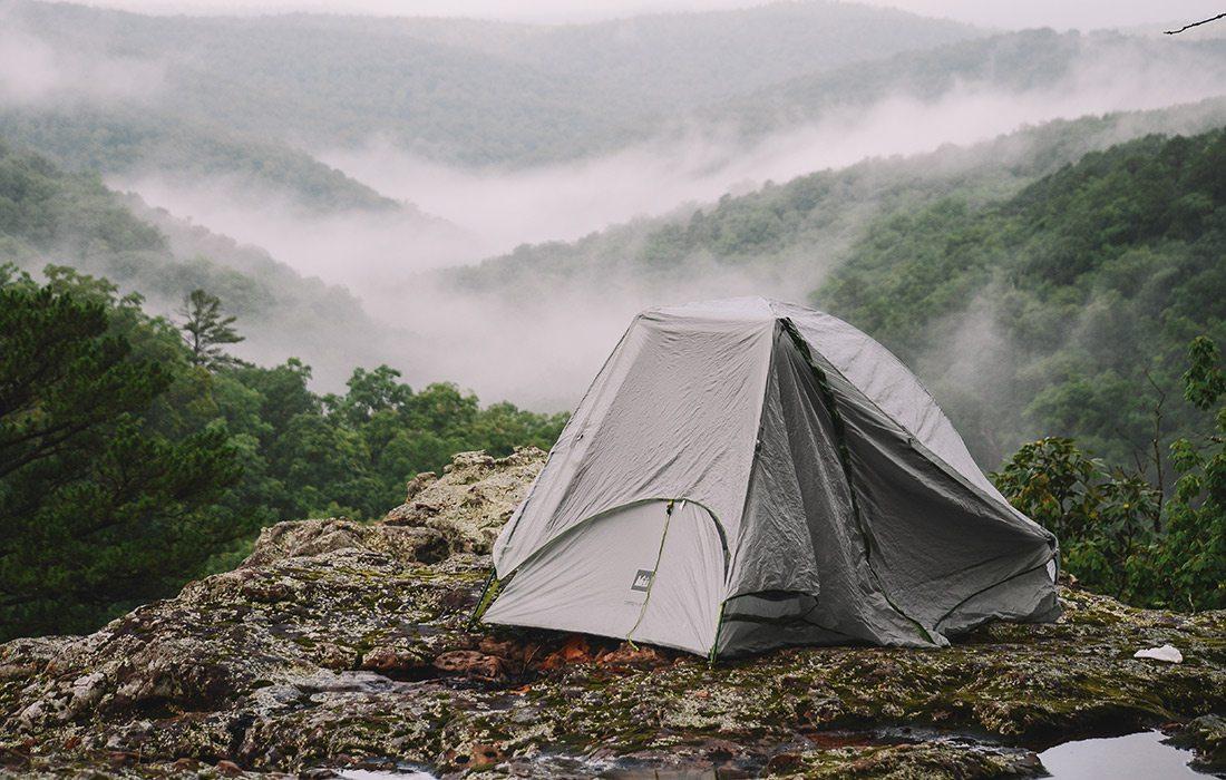 Campsite at Pedestal Rocks