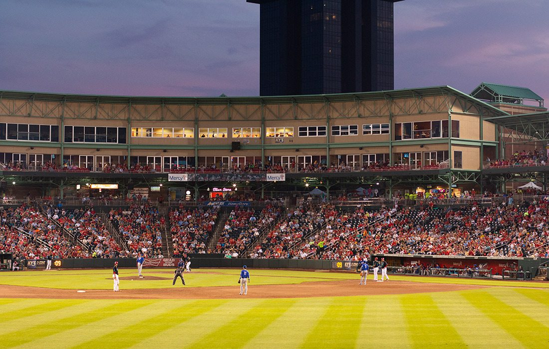 Springfield Cardinals at Hammons Field Springfield MO