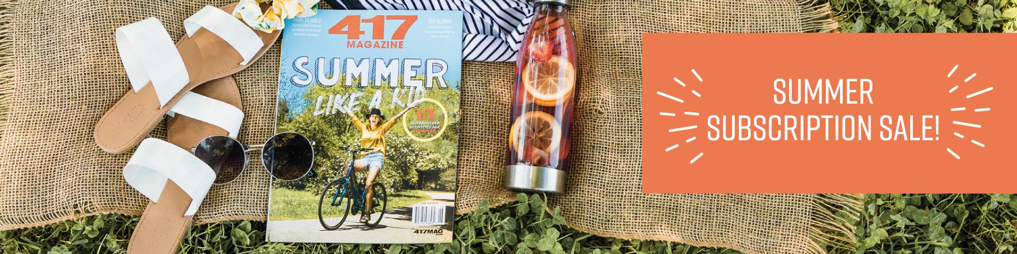 417 Magazine Summer Subscription Sale