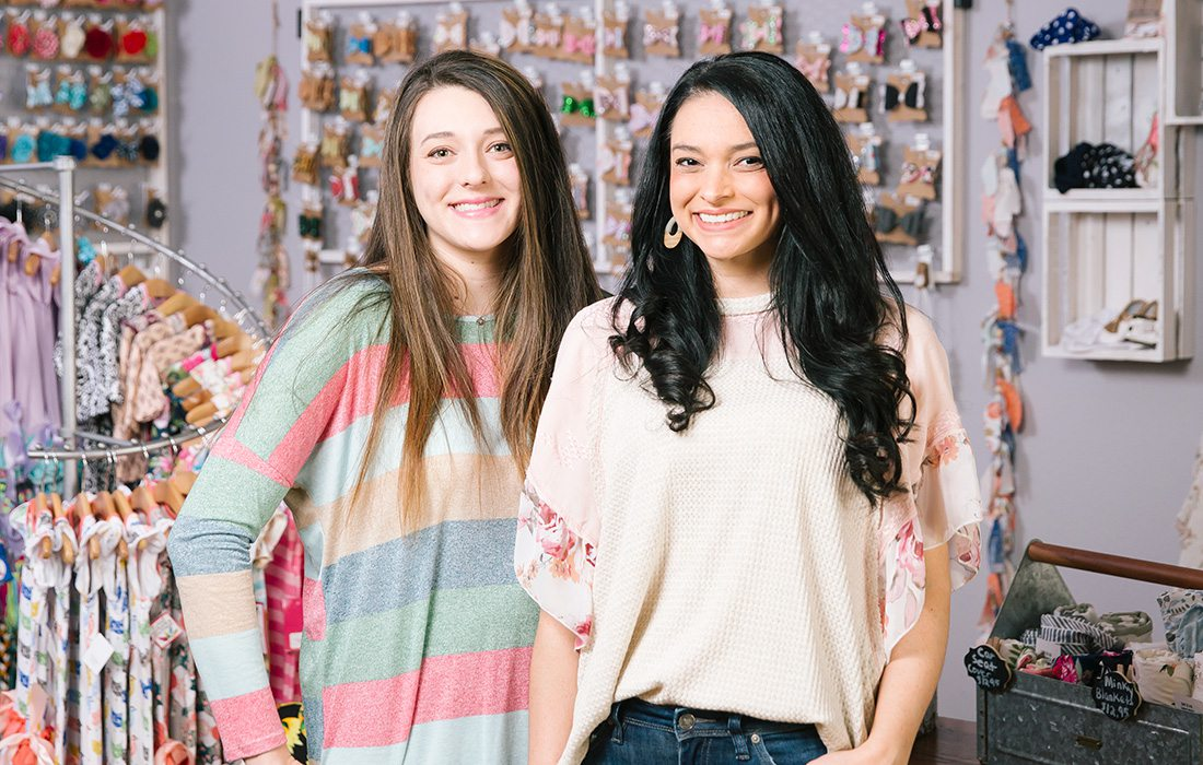 Ashley Kamler, Store Manager and Nicole Carr, Owner of Sweet Repeats & Boutique in Springfield MO