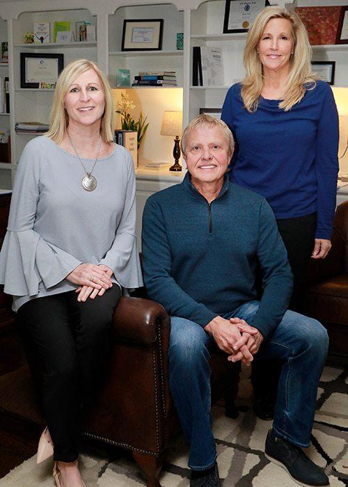 Ann Koetting, Dan Piddington, Paige Tuck