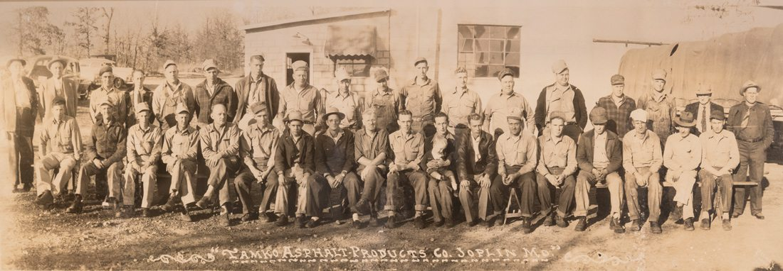 Employees at the original TAMKO plant on High Street in Joplin Missouri