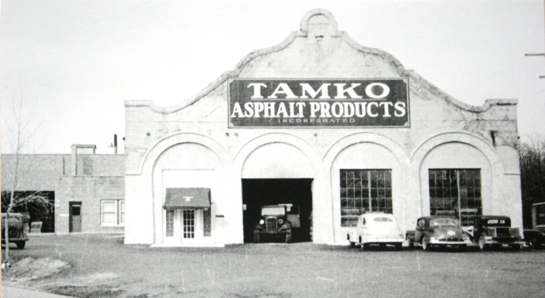 Original TAMKO plant on High Street in Joplin, Missouri.