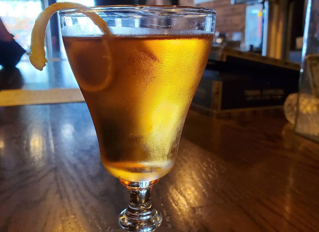 Sazerac cocktail at Tabak Co. in Springfield, MO