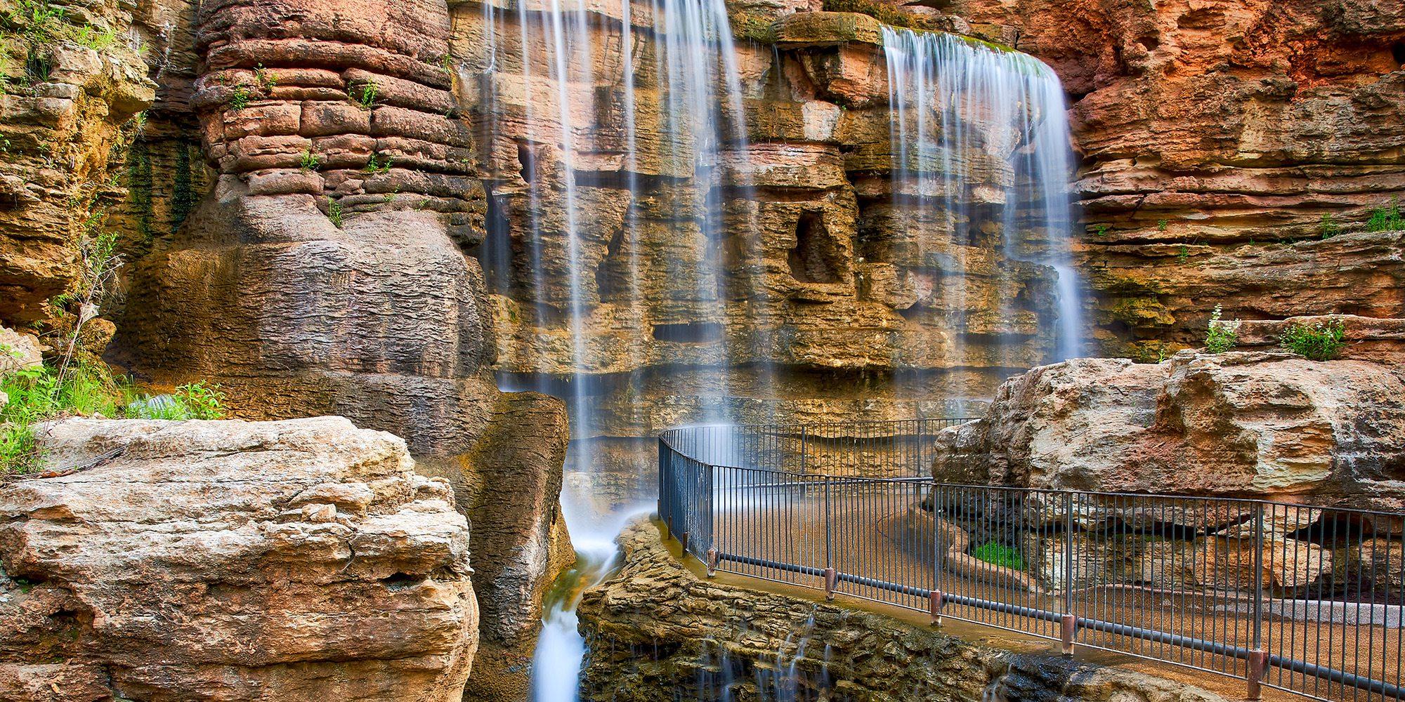 Waterfalls at Big Cedar, MO
