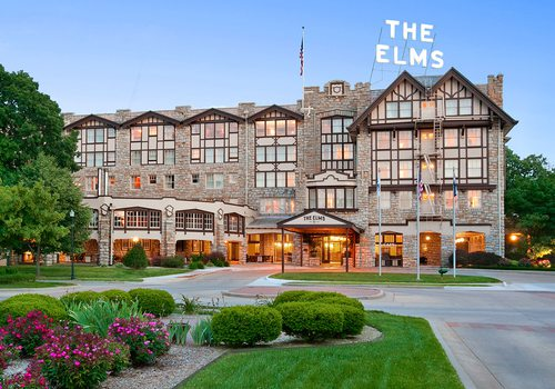 The Elms Hotel in Excelsior Springs, MO