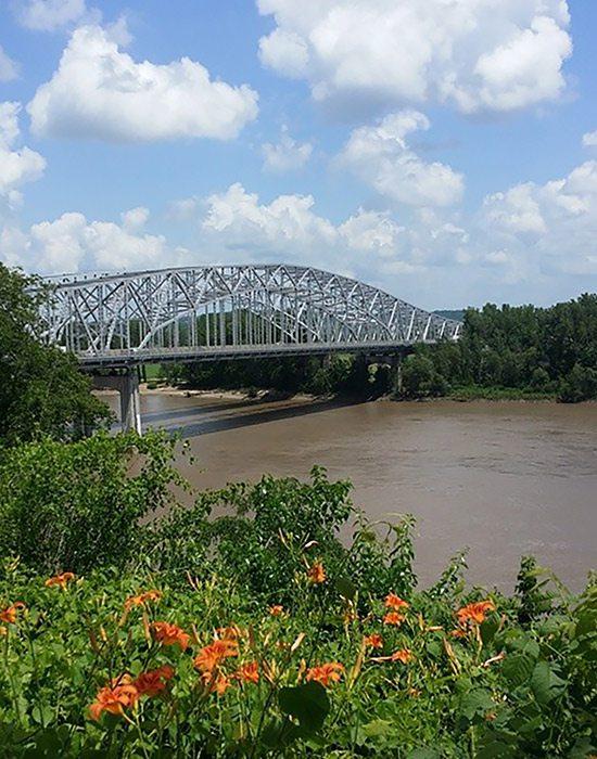 Bridge over the Missouri River
