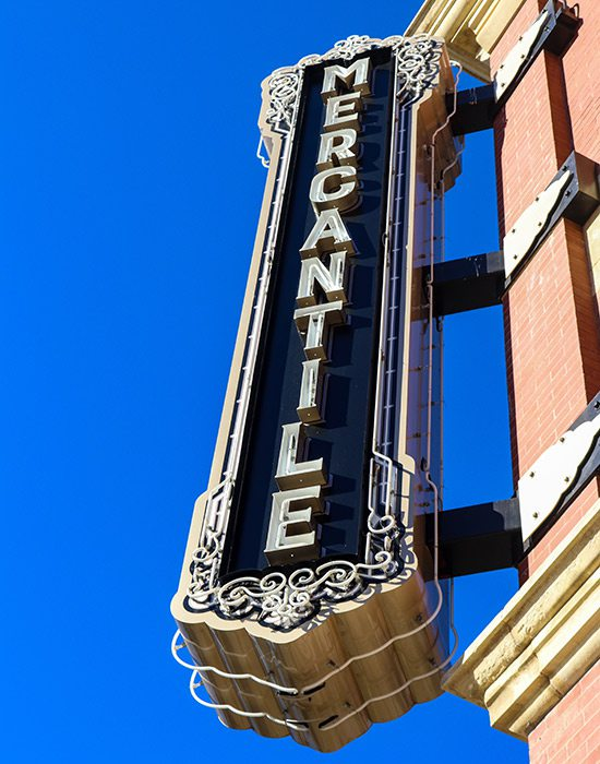 The Pioneer Woman Mercantile in Pawhuska, OK