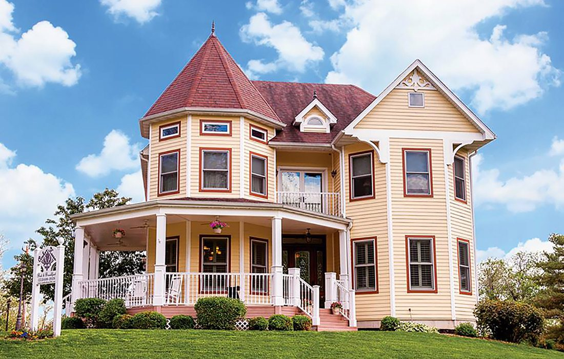 The Amber House Bed and Breakfast in Rocheport, MO