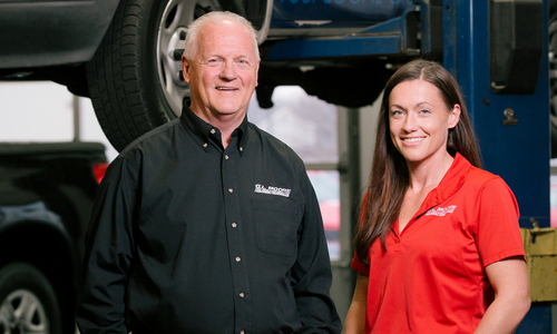Taking the Wheel at G.L. Moore Tire Pros & Automotive Inc.