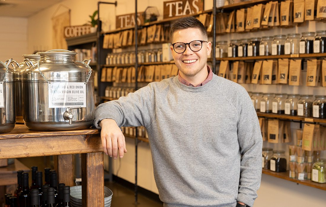 Clayton Lile, owner of Tantara Farms in Springfield MO