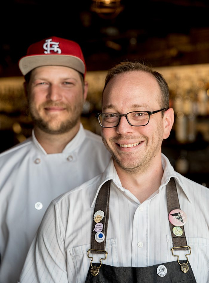 Executive Chef Daniel Stern and Beverage Impresario Doug Riddle of Social on Patton