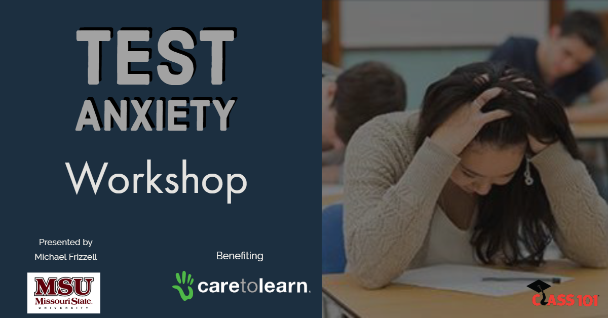 Test anxiety workshop in Springfield, MO