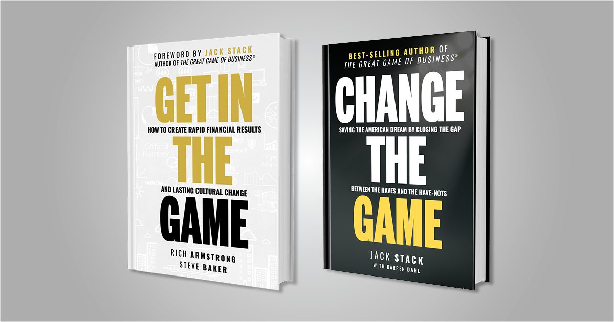 Change the Game follow up to the Great Game of Business