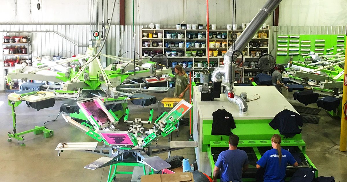The Greek Corner Screen Printing and Embroidery print shop Springfield MO