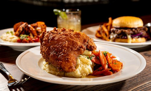 Fried chicken at The Hepcat in Springfield MO