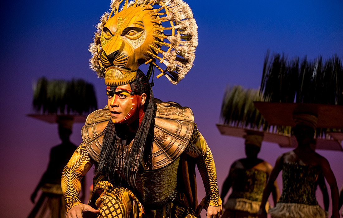 The Lion King performed at Juanita K Hammons Hall