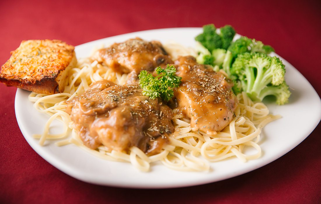 Sweet Chicken Marsala from Archie's Italian Eatery