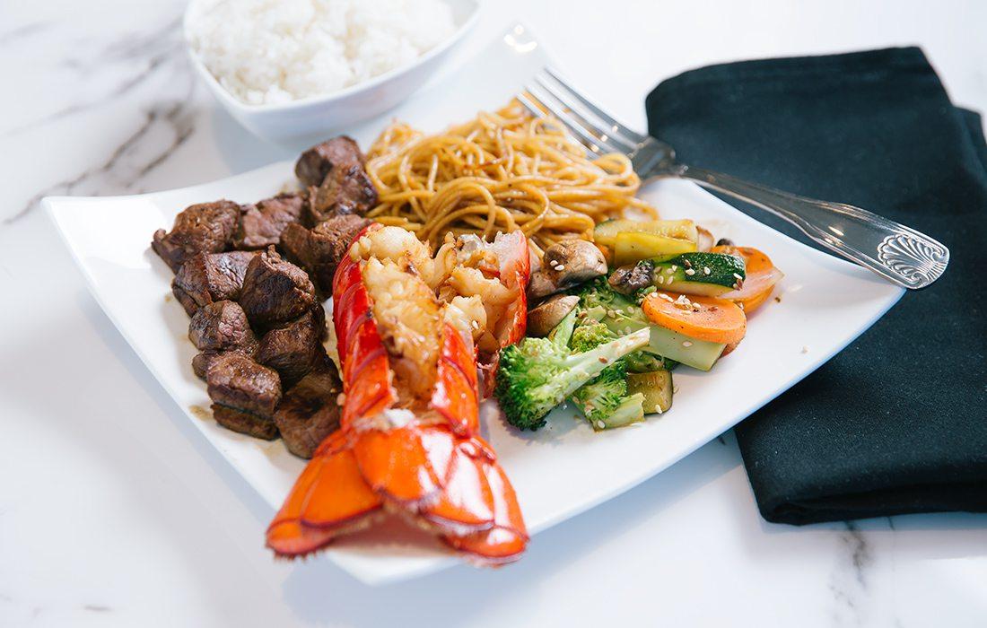 Lobster & Filet from Niji Sushi Bar & Grill