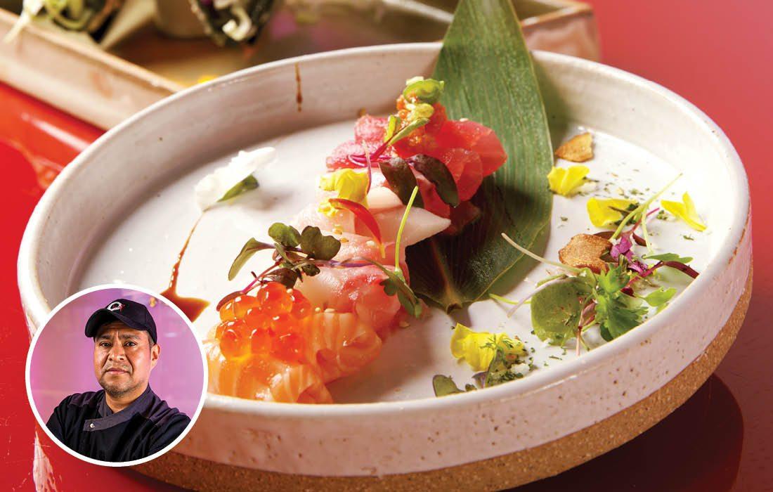 Jhon's sashimi platter from Kai