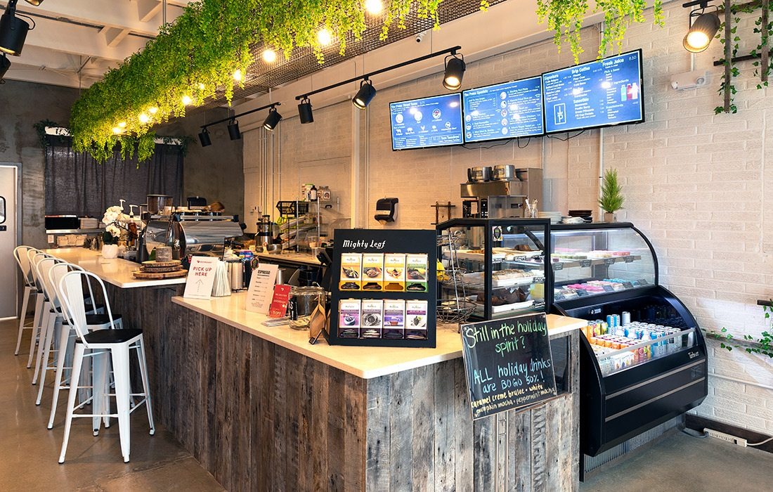 The Press Coffee and Juice Bar's new location in the Brentwood Shopping Center in Springfield MO