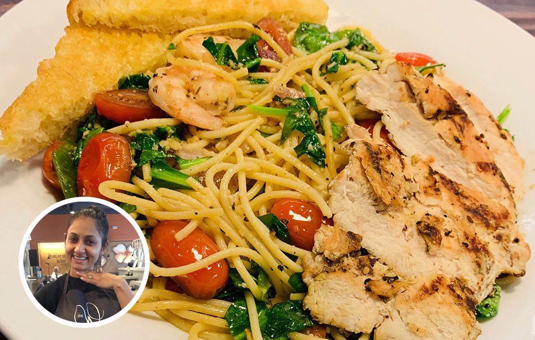 Chicken & Shrimp Florentine from The Wildseed