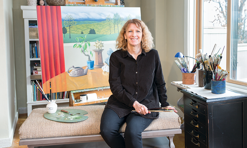 Jane Troup's Artist Studio