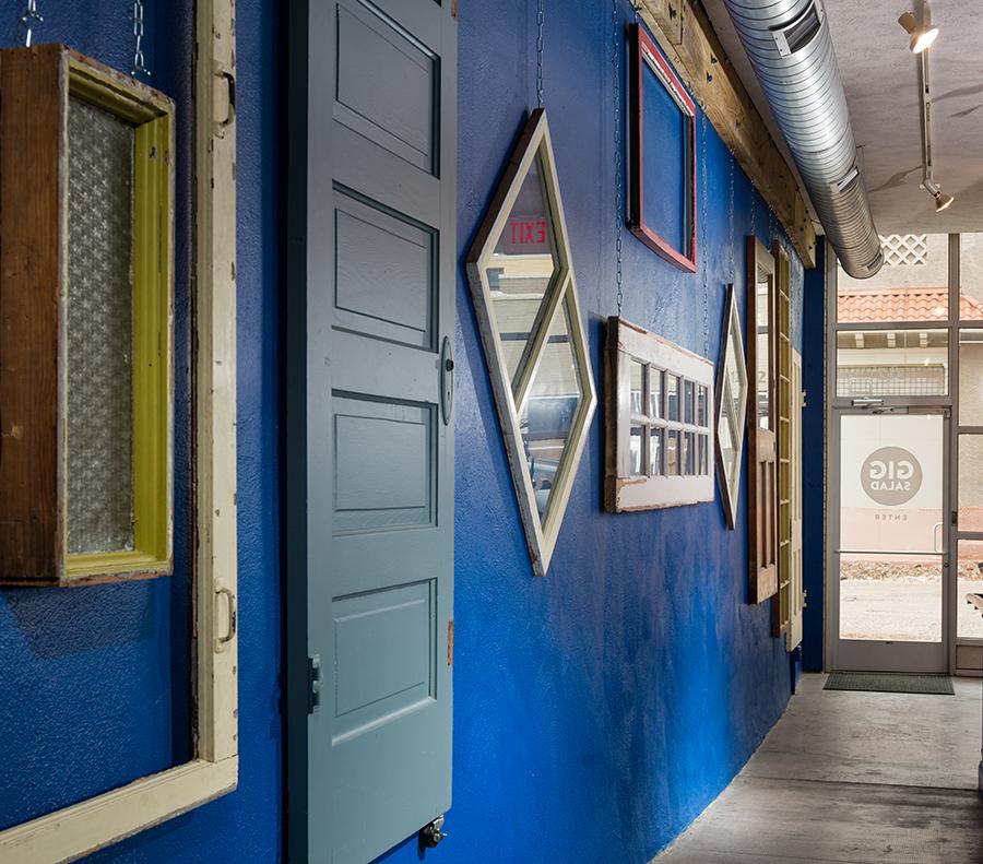 GigSalad entrance hallway.