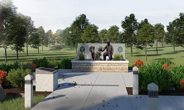 Memorial Dedication in Springfield MO