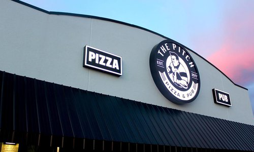 The Pitch Pizza & Pub is Open