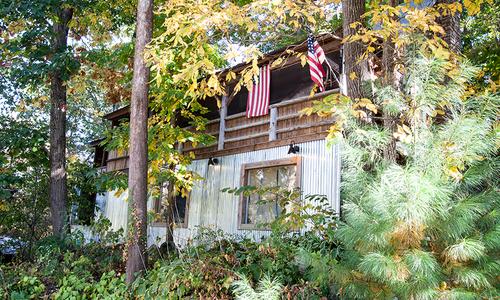 Clive Gray's Ozark Cabin