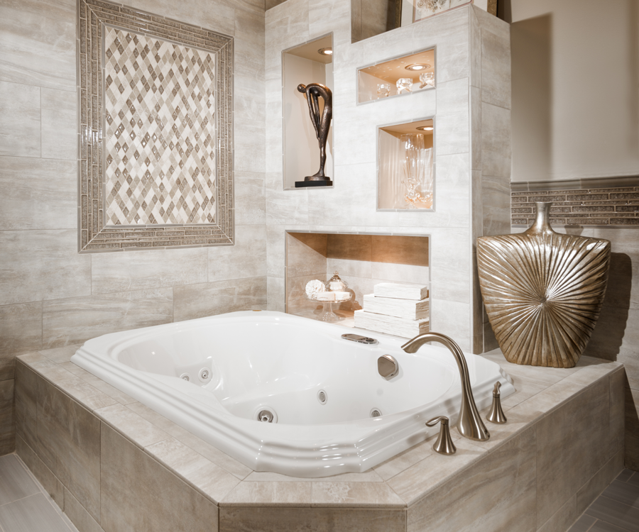 Timeless Style for the Master Bathroom