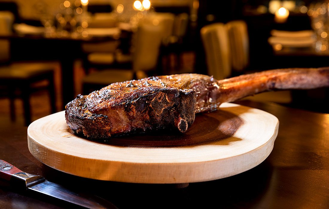 Tomahawk Steak from Char Steakhouse & Oyster Bar