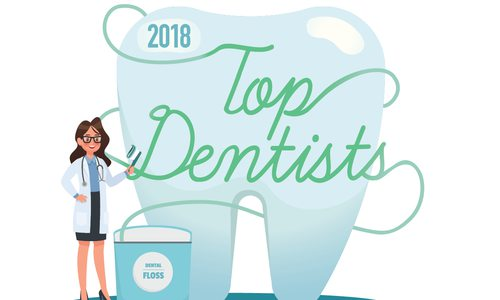 top dentists 2018 illustration