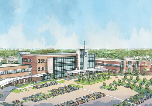 Ozarks Medical Center expansion renderings
