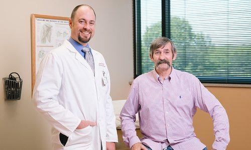 Dr. Jonathan Gray and Jackie Payne