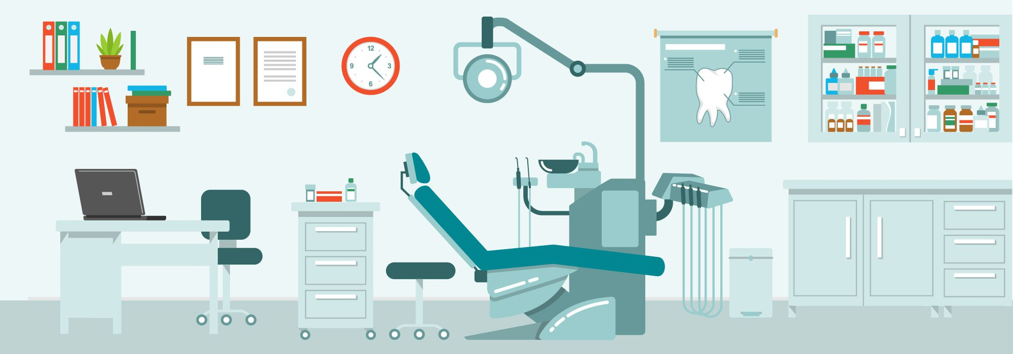 top dentists 2018 office illustration