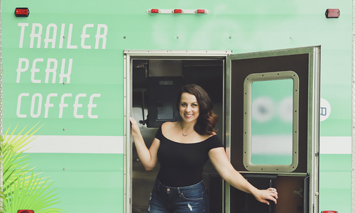 Building Trailer Perk Coffee and Gaining Momentum