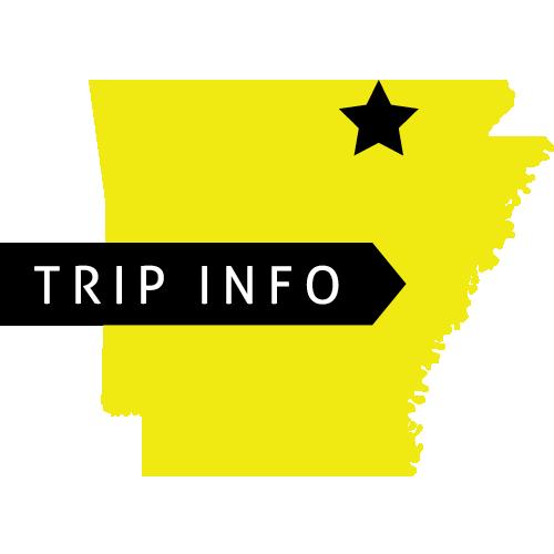 Trip Info, Hardy, AR