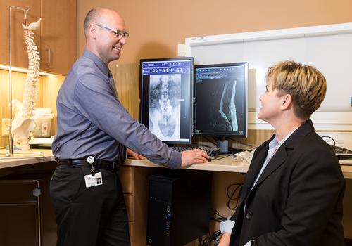 Dr. Troy Morrison Gives Dena Carver New Hope