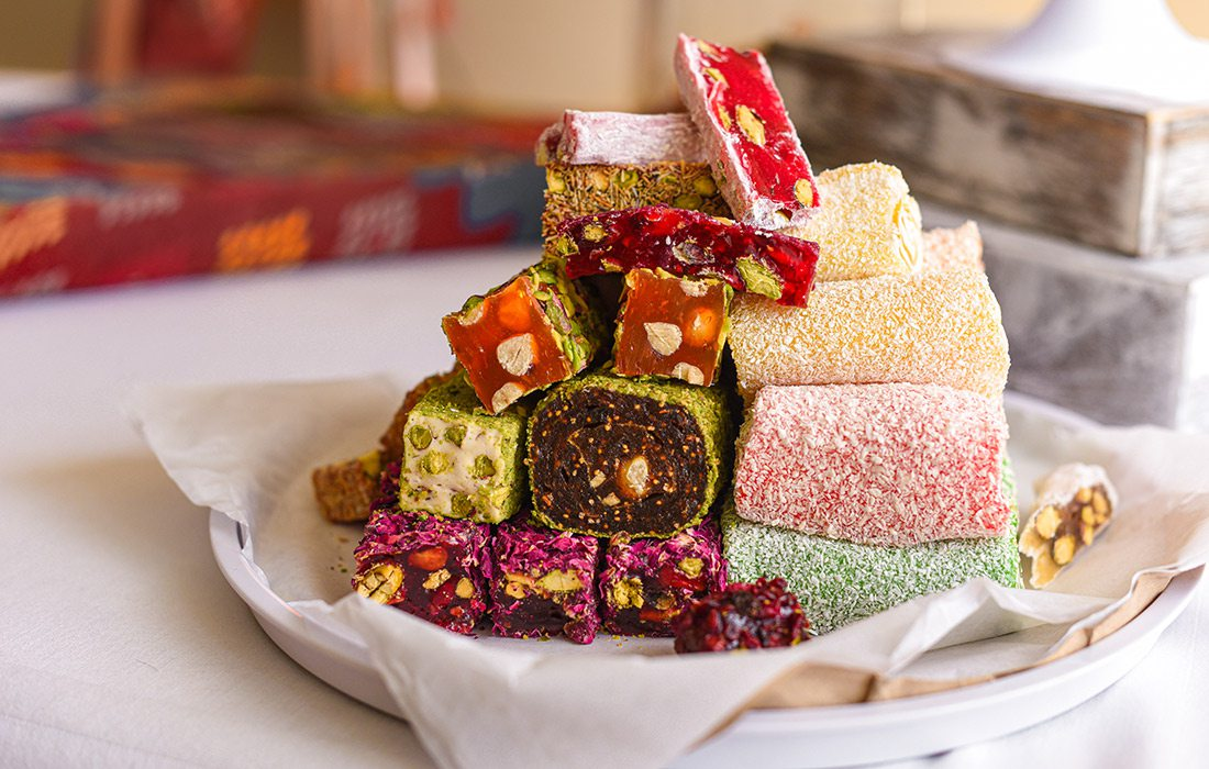 Variety of authentic Turkish delights at Well Street Gourmet in Springfield MO