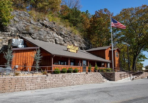 Exterior photo of Undercliff Grill & Bar