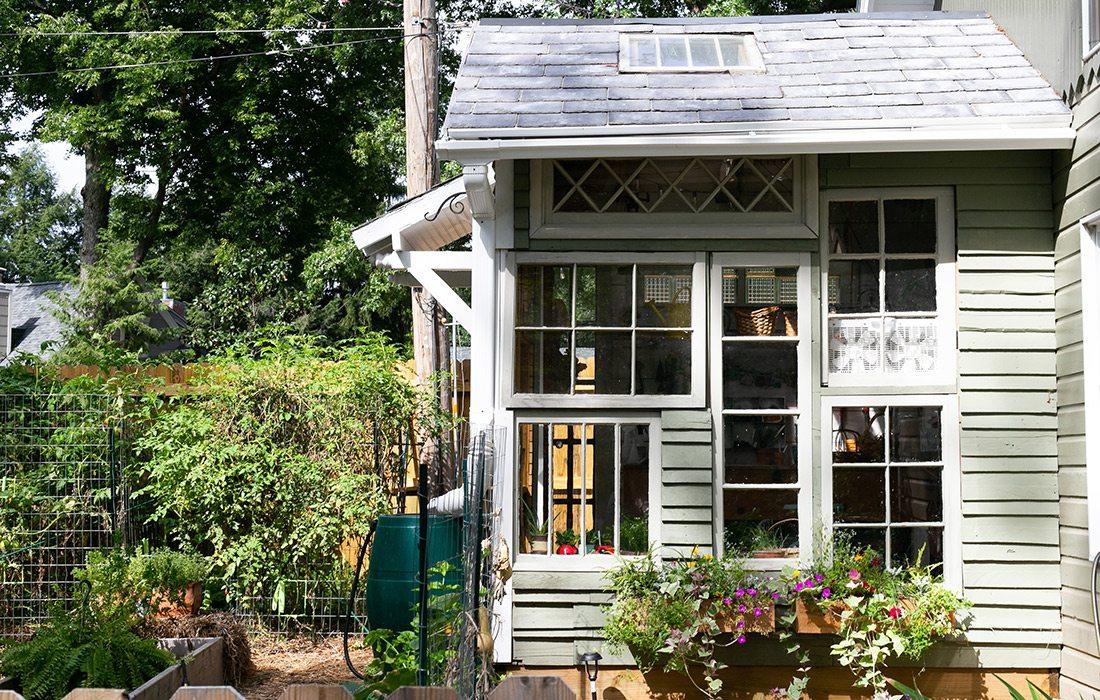 Upcylced Greenhouse Rountree Springfield MO