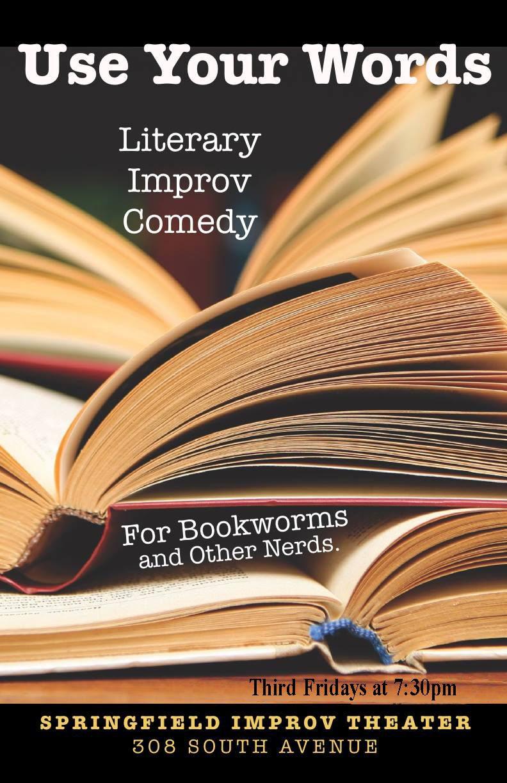 Literary improv comedy in Springfield, MO