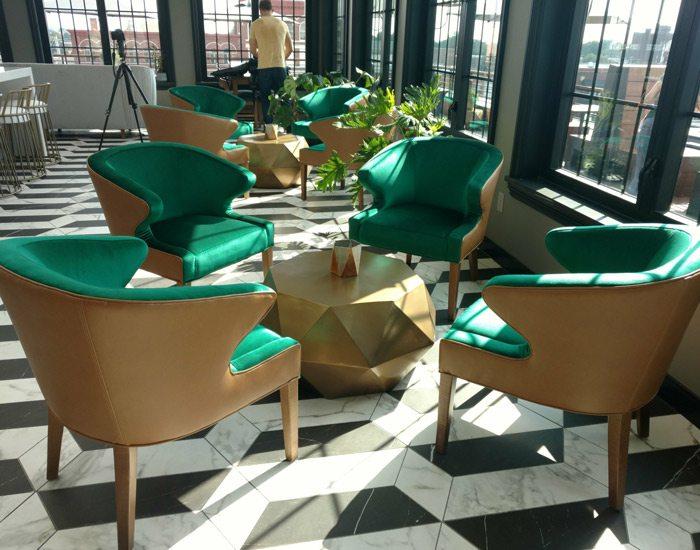 Vantage lounge seats
