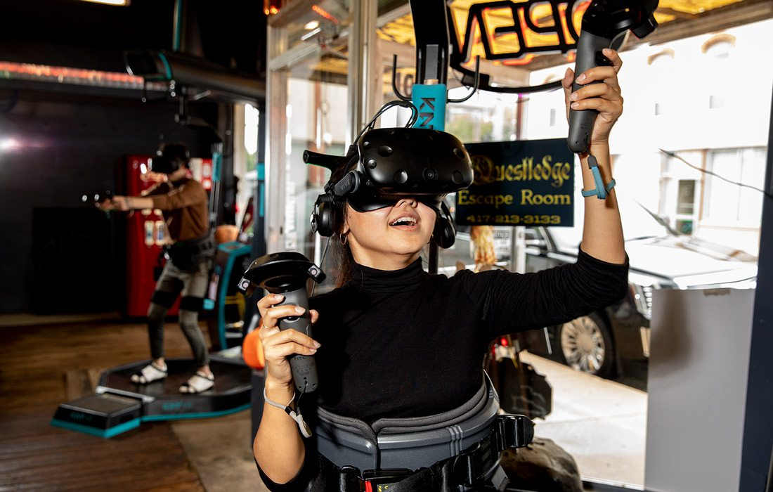 VR gaming at Avatar VR